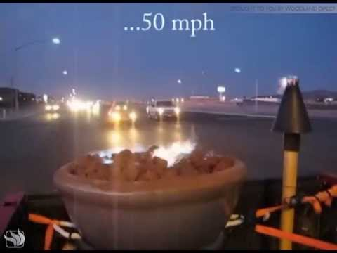 Fire by Design - Highway Speed Wind Test