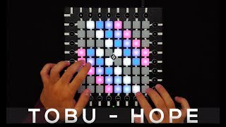 Tobu - Hope - Launchpad Pro Cover