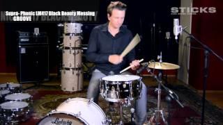 Ludwig Supra-Phonic LM417 Black Beauty, Messing-Kessel