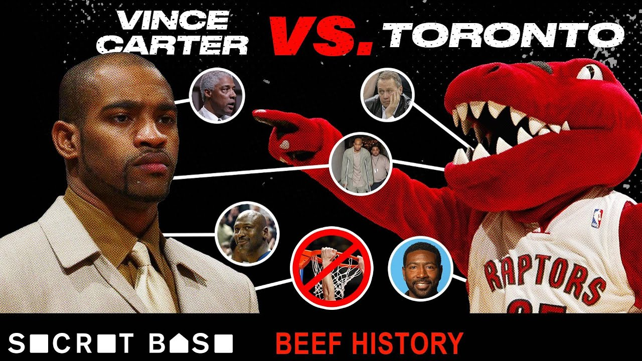 Vince Carter's 10-year beef with Toronto included Nelly, a possible body slam, and so many injuries thumbnail