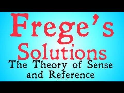 Download Frege's On Sense and Reference (Philosophy of Language)