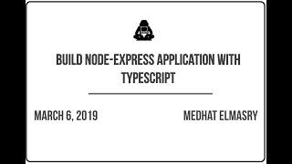 Express Graphql Typescript