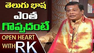 Meegada Ramalingaswamy About Importance Of Telugu Language | Open Heart With RK | ABN