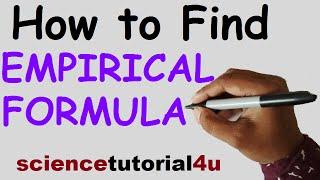 How To Calculate EMPIRICAL FORMULA Using 5 Simple Steps