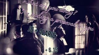 Мэттью Дэвис, Jolaric || Jo + Alaric [TVD +6x15]