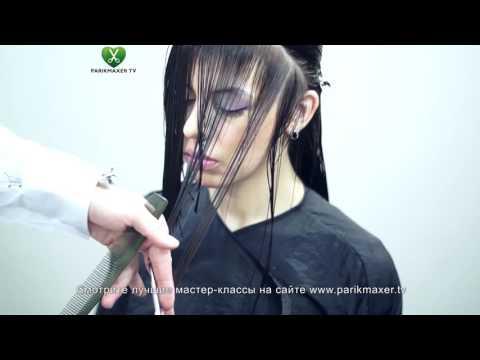 Стрижка для тонких волос  Александр Попков  Парикмахер тв