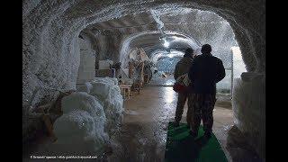 Музей мамонта в Хатанге в заполярной вечной мерзлоте.