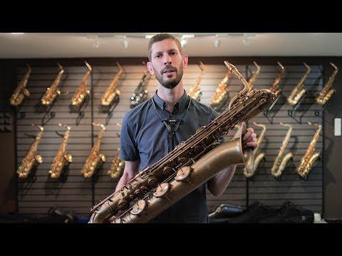 P. Mauriat PMB-300UL Baritone Saxophone review by Tim Stocker