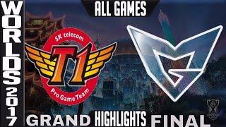 SKT vs SSG Highlights ALL GAMES - Worlds 2017 Grand Final SK Telecom T1 vs Samsung Galaxy