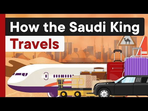 Nothing Compares to the Saudi Royal Family's Travel Style