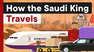 506 Tons Luggage, 1500 Men & 500 Limos: How the Saudi King Travels
