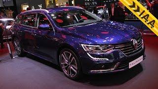 Renault Talisman 2016 и Talisman Estate 2016 - Новинки Франкфуртского Автосалона