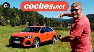 """Viajamos hasta la Selva Negra alemana para conducir el último SUV de Audi, el Q3 Sportback, una versión """"cupé"""" del SUV de tamaño compacto de la firma de los cuatros que llega en octubre de 2019.  Prueba escrita del Audi Q3 Sportback con galería de fotos: https://www.coches.net/videos/audi-q3-sportback-presentacion-prueba Prueba del Audi Q3: https://www.coches.net/videos/audi-q3-2019-suv-presentacion-prueba  Presentado por Gerard Farré (@Gerard_Farre) Fuente: Audi Edición: Crator  ...Y recuerda que en coches.net tienes la mayor oferta de coches."""