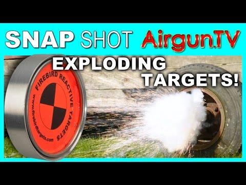 Exploding Airgun Targets