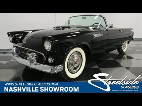 Video of '55 Thunderbird - J12A