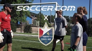 FIFA World Cup™ Skills with NCFC Youth: How to make a great save