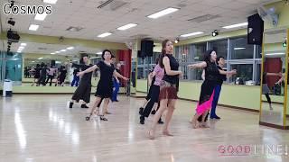 Cosmos Line Dance   High Beginner (Demo)