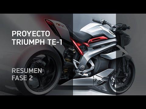 Proyecto TE-1 🔋 Triumph sienta las bases de su futura moto eléctrica