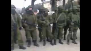 Украинские офицеры не допустили вывоз оружия с учебного отряда ВМС Украины Севастополь