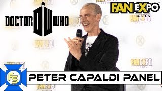 Питер Капальди, Peter Capaldi DOCTOR WHO Panel - Fan Expo Boston 2019