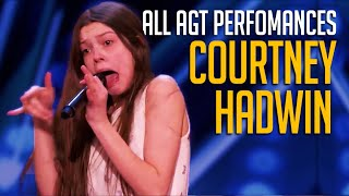 Courtney Hadwin: ALL Performances On America's Got Talent And AGT Champions