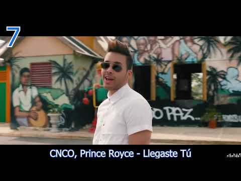TOP 10 LATIN SONGS  (NOVEMBER 10, 2018)
