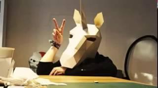 Making Unicorn Mask