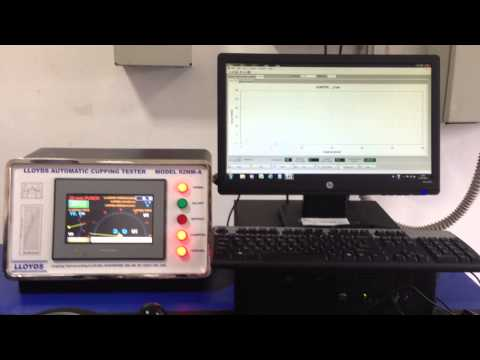 Lloyds Cupping Testing Machine