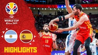 Argentina v Spain - Highlights - Final - FIBA Basketball World Cup 2019