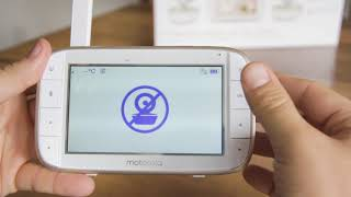 Motorola MBP50 Video Baby Monitor Quick Start Guide