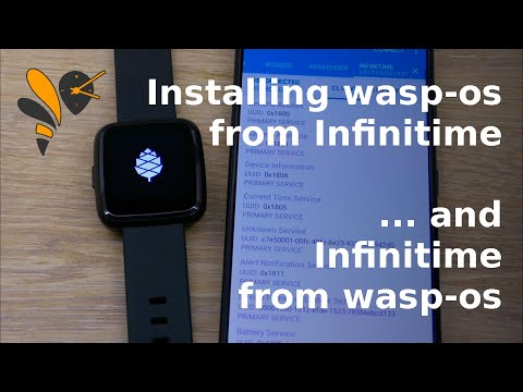 Over-the-air update from Infinitime to wasp-os