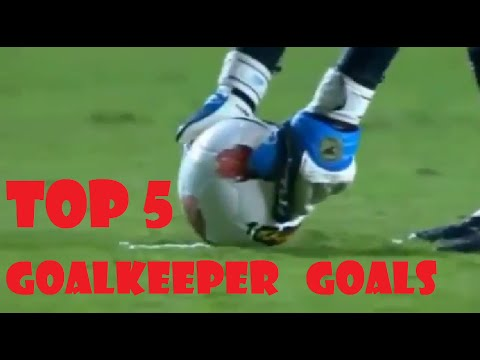 Top 5 Goalkeepers Goals