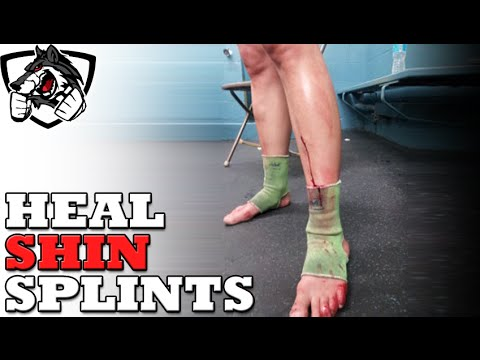 Video How To Heal Shin Splints from Running or Muay Thai