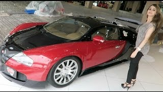 Lana goes Bugatti Shopping