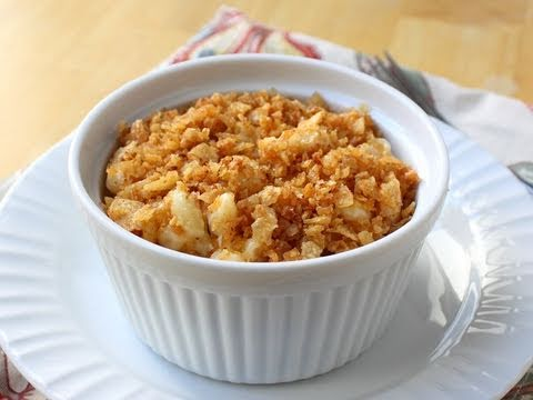 Food Wishes Recipes – Crispy Potato Chip Mac and Cheese – Macaroni and Cheese with Crunchy Potato Chip Gratin