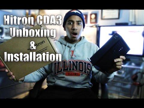 Hitron Modem Unboxing [HD]