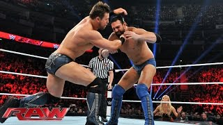 Damien Mizdow vs. The Miz: Raw, April 13, 2015