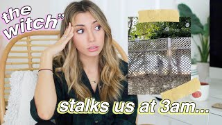 my CRAZY neighbor storytime (live unedited footage)