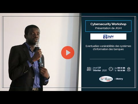 <a href='https://www.akody.com/business/news/business-cyber-security-workshop-eventuelles-vulnerabilites-des-systemes-d-information-des-banques-presente-par-jighi-325822'>Business: CYBER SECURITY WORKSHOP, Éventuelles Vulnérabilités des Systèmes d'Information des Banques présenté par Jighi</a>