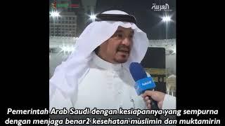 Video: Menteri Haji dan Umrah Arab Saudi Tanggapi Persiapan Haji Tahun Ini