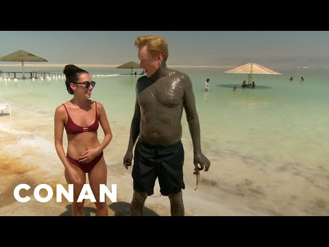 #ConanIsrael Sneak Peek: The Dead Sea - CONAN on TBS (видео)