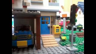 preview picture of video 'Lego city ´´Co se děje v ulici,,'