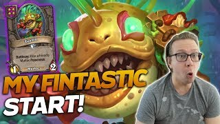What a FANTASTIC START FOR ME! A Near Perfect Game! | Hearthstone Battlegrounds | Savjz