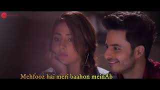 Mehfooz -Hacked Video Song Hina Khan   - YouTube