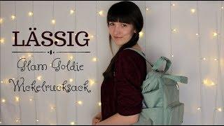 Lässig Wickelrucksack - Glam Goldie | Unterwegs mit zwei Kindern | What's in my diaperbag?