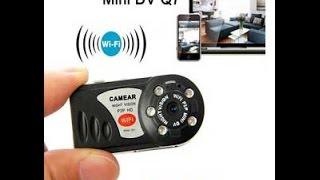 Q7 Mini Ip Camera + Subtitles