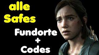 The Last of Us Part 2 alle Safes Locations + Codes Trophy Safeknacker Fundorte + Safe Kombinationen