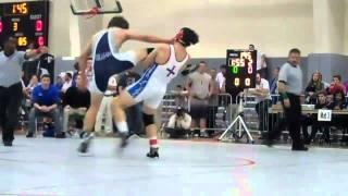 Shane Cockerille vs Dylan Devine Pt.1, MIS 195 lb Semi-final