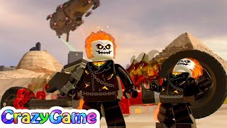 LEGO Marvel Super Heroes 2 How To Unlock Ghost Rider & Free Roam (Ghost Walker)