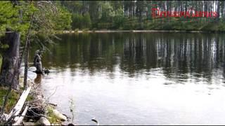КАРЕЛИЯ. Ведлозеро - Пристанище самого настоящего ВОДЯНОГО. НЕ КУПАТЬСЯ!!!